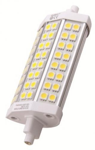 polaroid led r7s 10w 48 leds 1000 lumen 6500 k dimmbar. Black Bedroom Furniture Sets. Home Design Ideas